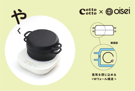 cotto cotto IHやくセット