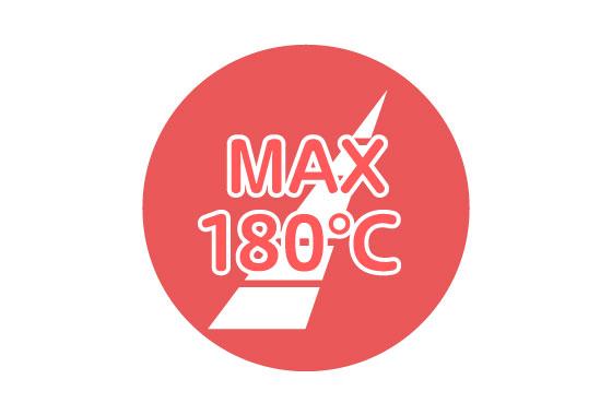 MAX180℃